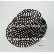 Детские гангстерские марочные шляпы fedora