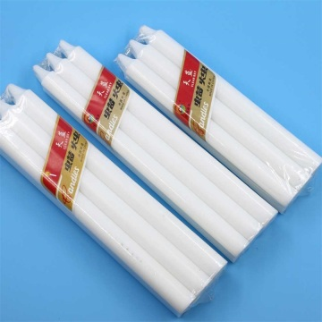 Spiral Church Wax White Candle Pillar Candles