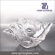 Tazón de vidrio cuadrado barato 120ml