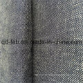 Yarn Dyed Twill Linen Fabric (QF16-2472)