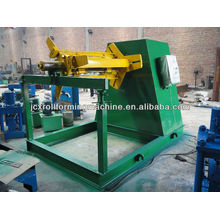 10T Hydraulic Full Automatic Steel Coil Decoiler