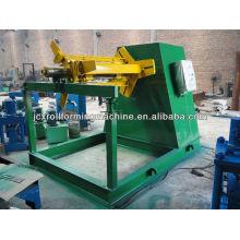 Decoiler de bobina de aço automático hidráulico 10T