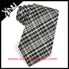 Cravate noire de concepteur de Brooke des hommes