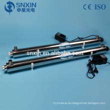Esterilizador UV de 6 GPM para agua