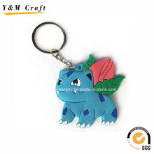 Color Fill Soft PVC Key Hanger Gift for Client Ym1123