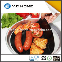 Teflon Coated Fiberglass BBQ Cooking Mat Non- Stick Oil Free Frying Pan Liner