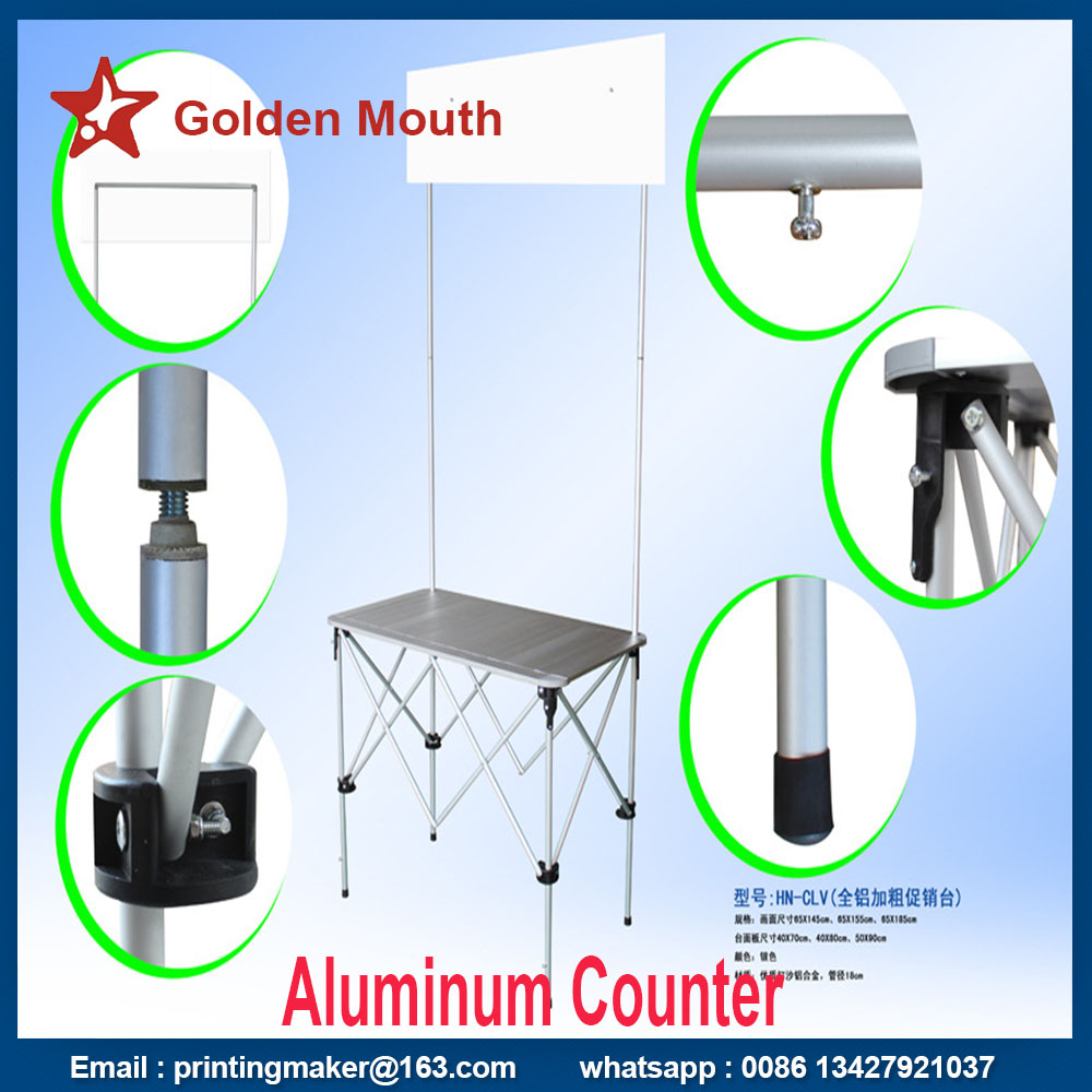 aluminum counter