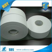 Rolo de vinil destrutível auto-adesivo, rolo de papel de etiqueta de vinil de segurança