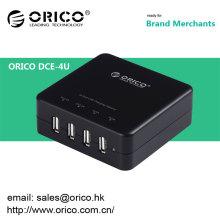 ORICO DCE-4U Chargeur usb mini-port 4 ports pour iPhone / iPad / téléphone portable / tablette PC