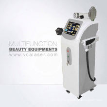 combination multifunctional machine Elight+RF+YAG:laser use for hair tattoo removal