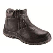 Ufa123 Black Executive Formal Steel Toe Safety Shoes