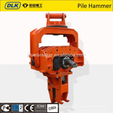 hammer pile driver DLKP08 fits to 20~30 ton excavator