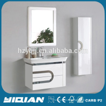Neuer Entwurfs-keramischer Handwaschbecken-Kabinett-Wand-angebrachter PVC-Badezimmer-Waschbassin-Schrank