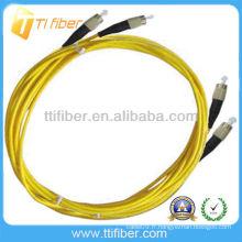 Cordon de raccordement à fibre optique 3m SM DX ST / UPC de la meilleure qualité