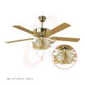 Ventilador de teto decorativo 52′′ com controle remoto