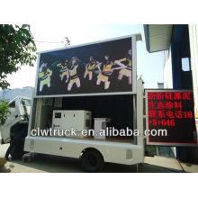 FOTON móvel levou caminhão de exibição, 3-lado led display