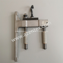 Вешалка для кронштейна направляющей планки для основовязальной машины