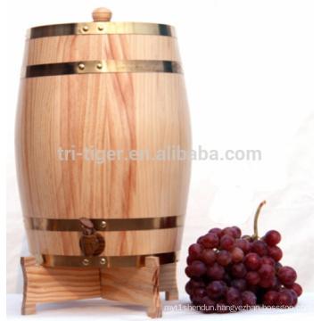 1.5 L 3L 5L 10L upright Whiskey wine Oak Barrel