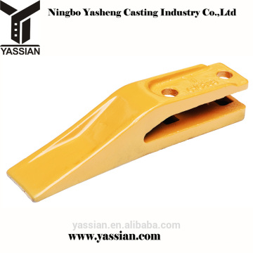 Chine export de bonne qualité unitooth ou boulon sur godet dents dent de seau pour chargeuse sur pneus