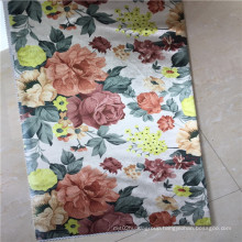 100% Polyester Flowers Printing Fabric for Curtain