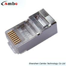 Conector STP Cat6a rj45