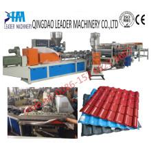 Máquina sintética de extrusión de tejas de techo UPVC