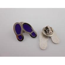 Insigne en métal en forme de chaussure, épinglette (GZHY-BADGE-028)