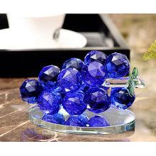 Artisanat en verre de raisin de cristal pour la décoration de maison ou de voiture
