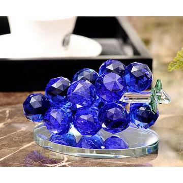Crystal Grape Glas Handwerk für Zuhause oder Auto Dekoration