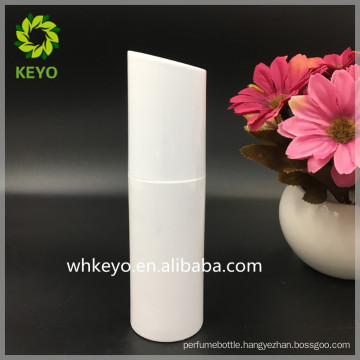 New design PET cosmetic packaging unique shaped 100ml plastic bottles