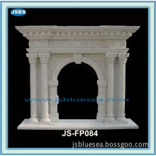 Modern Style Indoor Marble Cheap Fireplace