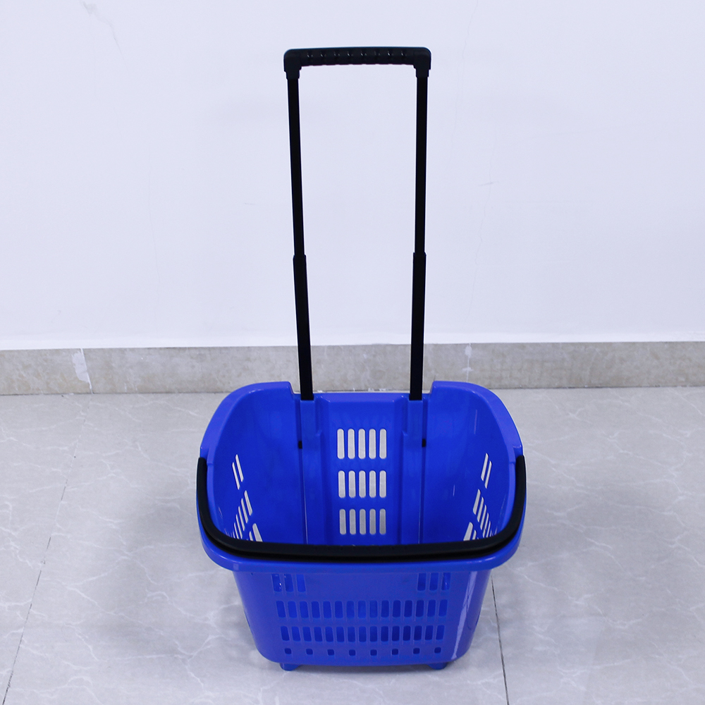 Blue Color Shopping Basket