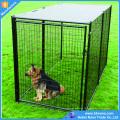 Большой Открытый Нержавеющей Стали Металла Собака Клетки С Пластиковым Поддоном