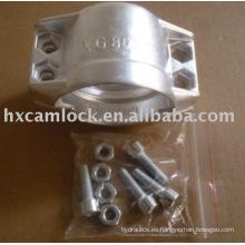 abrazadera de aluminio pg
