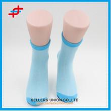 Teenager cotton sport sock/custom logo sport socks for bulk