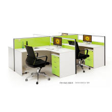 4 Worker Workstation Office Cubicles Panels (FOH-SS42-2828-B)