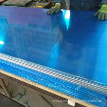 1050 Aluminium Sheet with Blue PVC Film Coated
