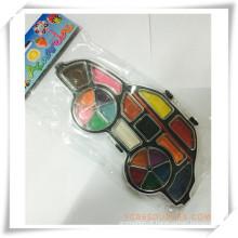 Pintura promocional sólido-seco colorido aquarela conjunto para presente da promoção (OI33016)