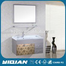 Vanité de salle de bain moderne Meuble de salle de bain en acier inox