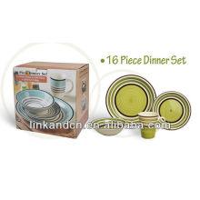 KC-00373/ceramic bowl/ 16pcs dinner set