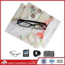 Fuente de la fábrica multipurposes durable microfibra paño de limpieza de gafas