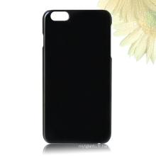 pour la couverture arrière de l'iPhone 6, cas de téléphone de sublimation de vide 3D en plastique pour l'iPhone 6