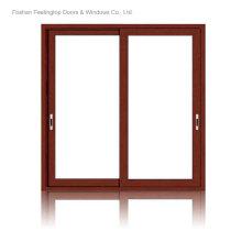 Алюминиевые раздвижные двери Патио для коммерческого строительства (фут-кадрах, снятых D80)