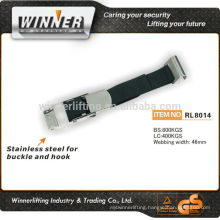 100% polyester lashing strap buckle