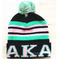 Personalizado de impresión de punto Gorra bordada Beanie El invierno caliente Hat