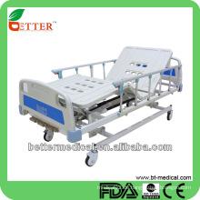 Krankenhausbetten mit ABS Bedboard Medical Drei funktionuelle Betten