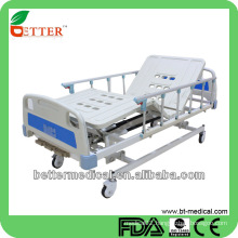Hospital beds with ABS Bedboard Medical Three function manual beds