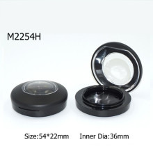 Small Single Black Magnet Empty Eyeshadow Container