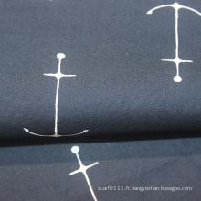 Tissu en popeline 100% coton 40 * 40 pour vêtements