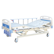 Four-Cranks Five Functions Manual Hospital Bed With CE
